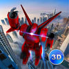 Flying Robot Simulator 3D Full App Icon