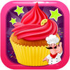 Kids Cup Cake Maker App Icon