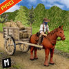 Horse Cart Carriage Transport App Icon