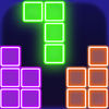 glow popping block puzzle game App Icon